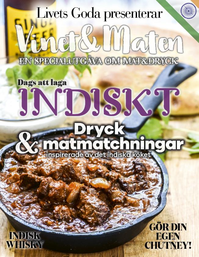 Vinet&Maten: Indiskt