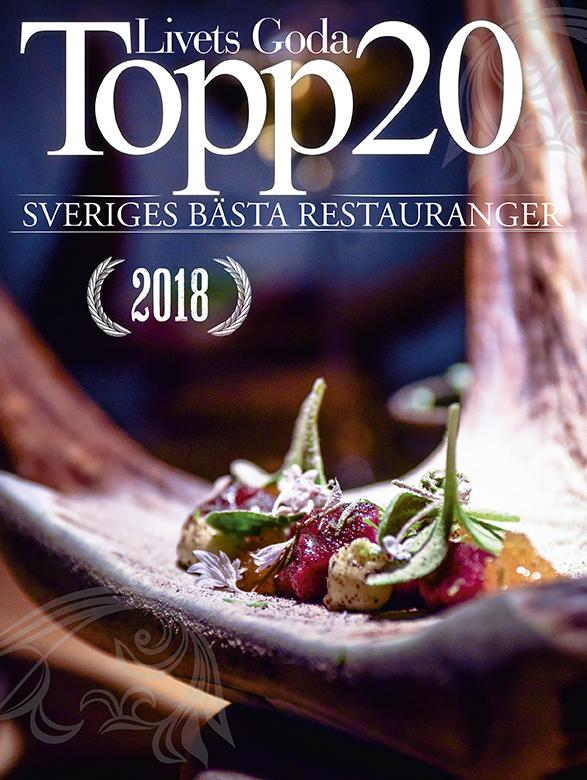 Topp20 2018 - Sveriges Bästa Restauranger